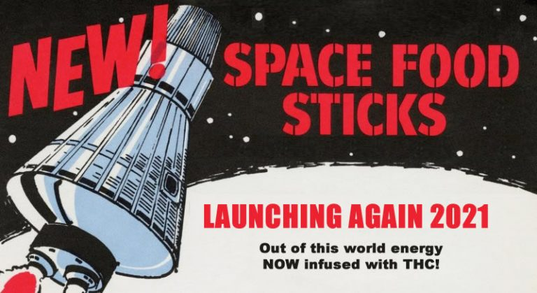 Space Food Sticks Relaunch 2021